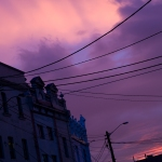 Enmore Road sunset