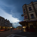Storm over Enmore Road