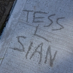 Message in the concrete